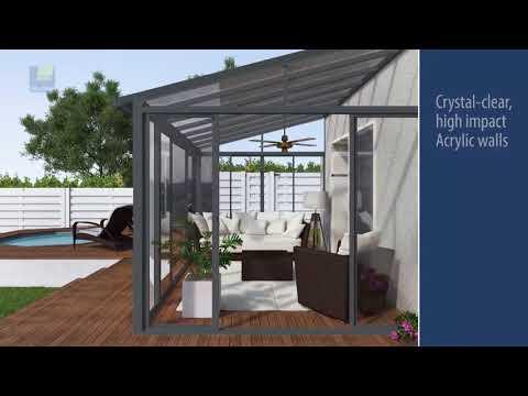 Palram SanRemo Patio Enclosures - Sun Rooms