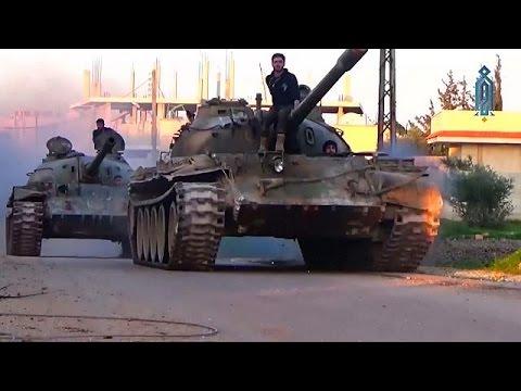 Νέα επίθεση των Σύρων ανταρτών στη Χάμα