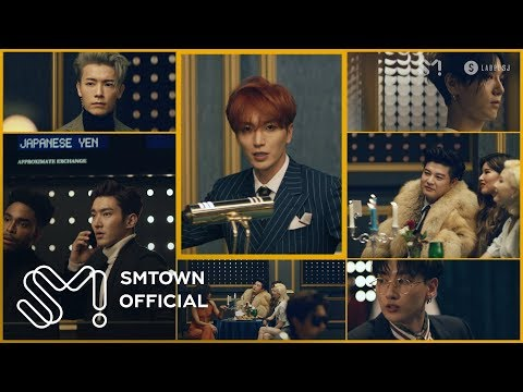 SUPER JUNIOR 슈퍼주니어 'Black Suit' MV (видео)
