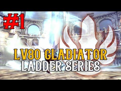 #1 GET REKTED ; SUNSHINE SPARK EX! 1950+ Ratings - Lv80 Gladiator Ladder Series - Dragon Nest