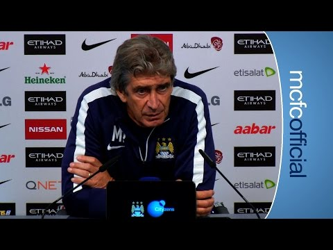 Video: PELLEGRINI ON RUMOURS | City v Sheff Weds Press Conference Part 1