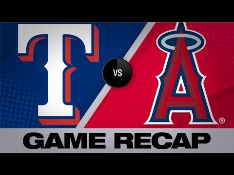 Video: Calhoun, Trout, Heaney power Angels' 5-2 win   Rangers-Angels Game Highlights 8/27/19