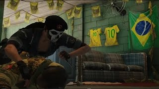 Tom Clancy's Rainbow Six Siege - Skull Rain's BOPE Operators and Favela Map In Action by Ubisoft