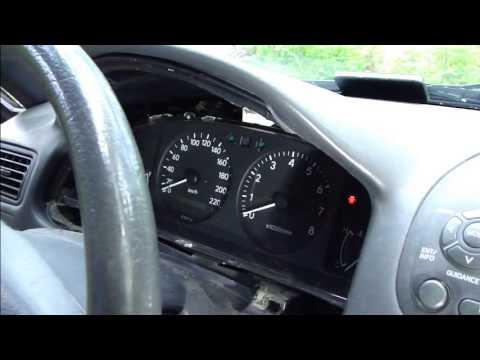 How to fix tachometer error dashboard Toyota Corolla. Years 1995-2005.