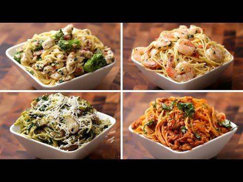 Spaghetti på 4 måde