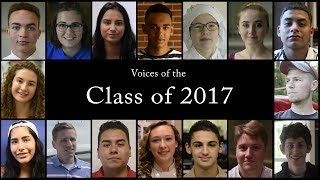 Voices of the Class of 2017