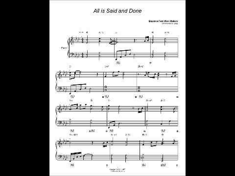 , title : 'Piano Cover All is Said and Done B.E.Y.O.N.C.E.'