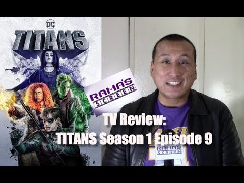 My Review of DC Universe 'TITANS' Season 1 Episode 9 | Hank and Dawn