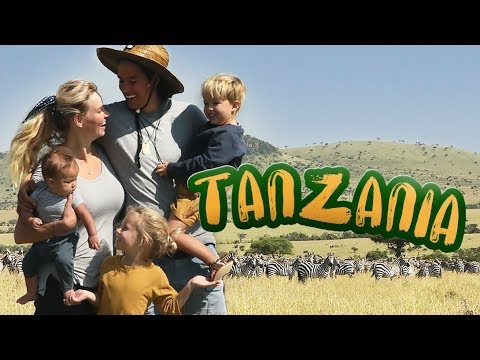 African Safari With 5 Month Baby!! KID FRIENDLY?? /// WEEK 117 : Tanzania