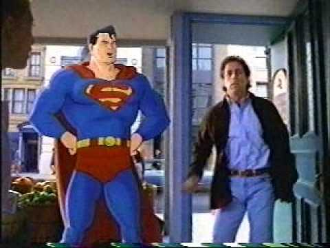 Banned Commercials AMERICAN EXPRESS Seinfeld and Superman