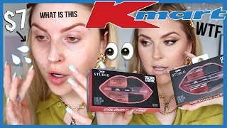 I tried KMART MAKEUP and... wow. 🤔 FULL FACE first impressions by Shaaanxo