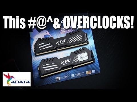 ADATA XPG V2 RAM - This stuff can overclock!