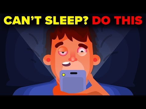 Can't Sleep? Do THIS! (How To Fall Asleep Fast)