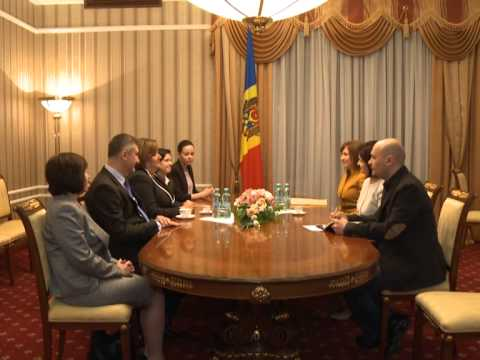 First Lady of Poland on visit to Moldova
