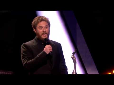 Duncan Jones accepting his dads British Album of the Year Award - I Love you David bowie