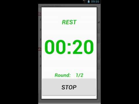 Video of Top Workout Timer Lite
