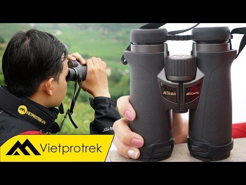 Vietprotrek - Trên tay siêu phẩm Nikon EDG 10x42 : Ống nhòm tốt nhất Thế giới