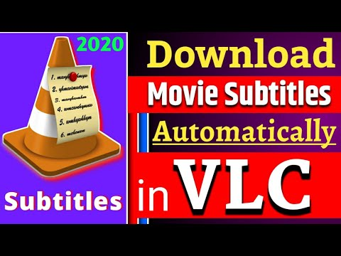 How to download subtitles automatically in vlc player | movie subtitle | vlc subtitle |2020|srt file