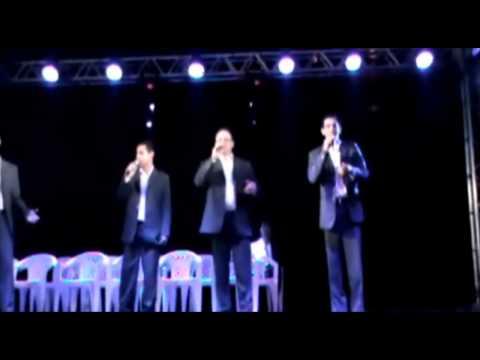 Quarteto Testemunho no Dia do Evangélico em Ubarana