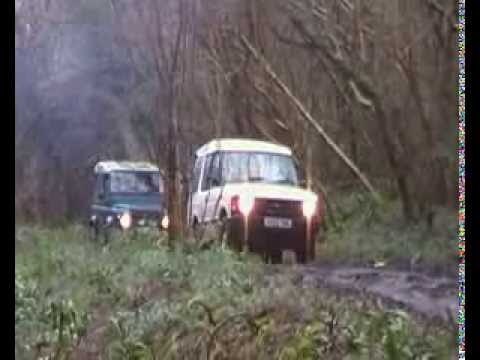 Forest Land Rover Group green lane run 27 12 13