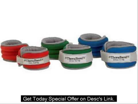 Thera-Band Comfort Fit AnkleWrist Cuff Weight Sets