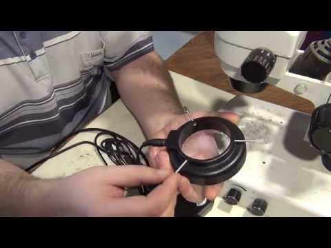 Светодиодная подсветка микроскопа своими руками