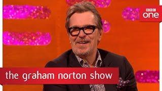 Video Gary Oldman's Winston Churchill dance moves - The Graham Norton Show: 2017 - BBC One MP3, 3GP, MP4, WEBM, AVI, FLV April 2018