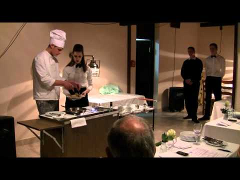 GASTRO 2011 - priprema jela pred gostom flambiranjem