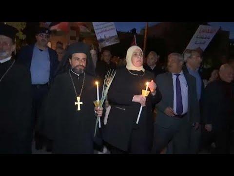 Ραμάλα: Πορεία διαμαρτυρίας για την έκρηξη βίας