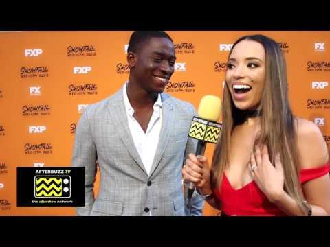 Damson Idris Interview | FX Snowfall Premiere