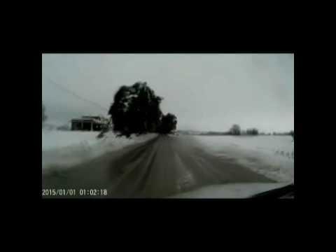 Neve in Val Vibrata: il viaggio da Nereto a Sant'Omero VIDEO
