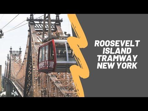 0 Une minute à Roosevelt Island en Tramway #video