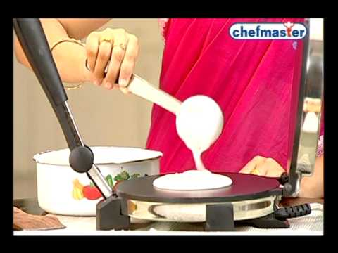 CHEFMASTER- Chapathi/Roti maker- DEMO film