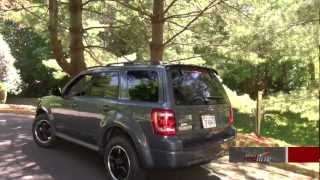 2012 Ford Escape XLT AWD With Sports Appearance Package Walkaround, Review And Test Drive