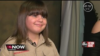 Boy grows hair for 2 years to donate to friend