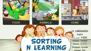 Sorting n Learning game 4 Kids YouTube video