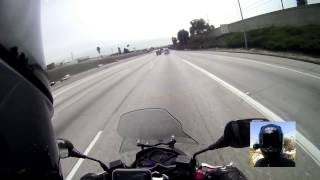 9. 2015 Yamaha Smax on the Freeway