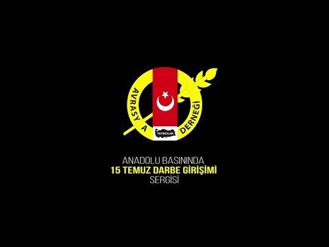 Anadolu Basınında 15 Temmuz Darbe Girişimi Sergisi