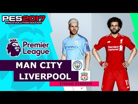 MANCHESTER CITY Vs LIVERPOOL -  Premier League | PES Gameplay PC