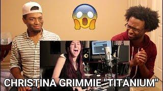 Christina Grimmie - Titanium by David Guetta ft. Sia | REACTION |