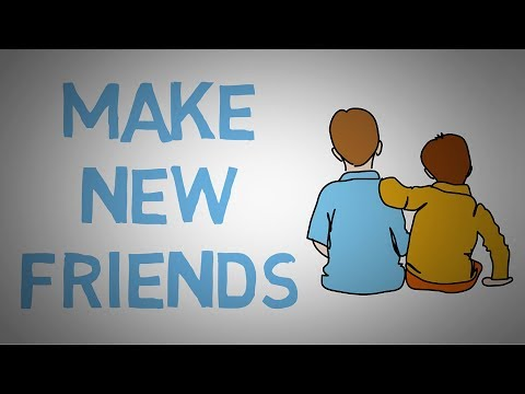 make new friend In my opinion, the best way to meet new people (and therefore, make new friends) is through activities the more people you come in contact with, the greater chance you have of finding one or two that you really click with make a goal to branch out and try new things, and as a result you'll meet new friends.