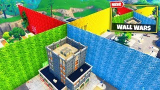 WALL WARS Custom Gamemode in Fortnite Battle Royale