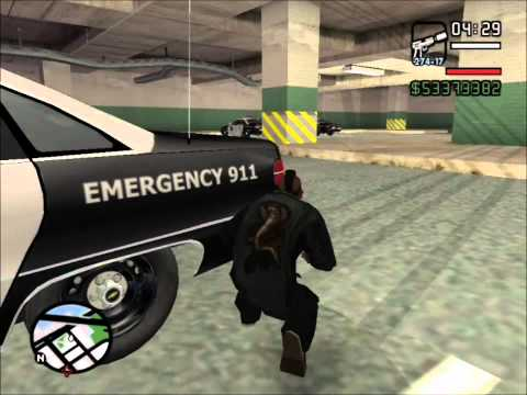 GTA San Andreas - San Fierro Police Station Attack Story