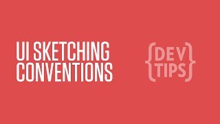 UI Sketching Conventions