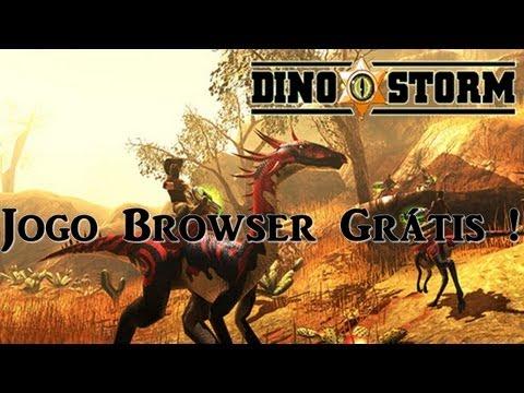 Dino Storm Jogo Browser Grátis !