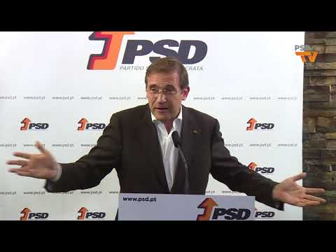 Pedro Passos Coelho no Jantar/Convívio de Natal do PSD Alijó