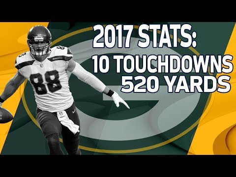 Video: Welcome to the Green Bay Packers Jimmy Graham | NFL Free Agent Highlights