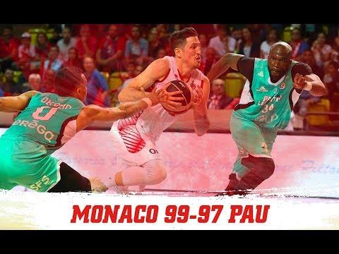 Play-offs Jeep Elite — Monaco 99 - 97 Pau-Orthez — Highlights