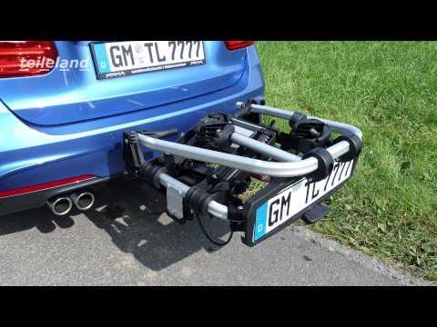 Uebler X21S Fahrradträger für die Anhängerkupplung Test
