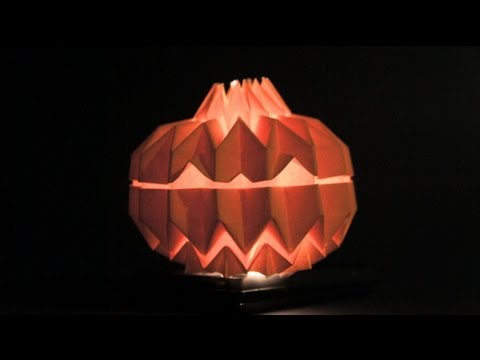 Halloween Tutorial - 033 -- Jack O' Lantern